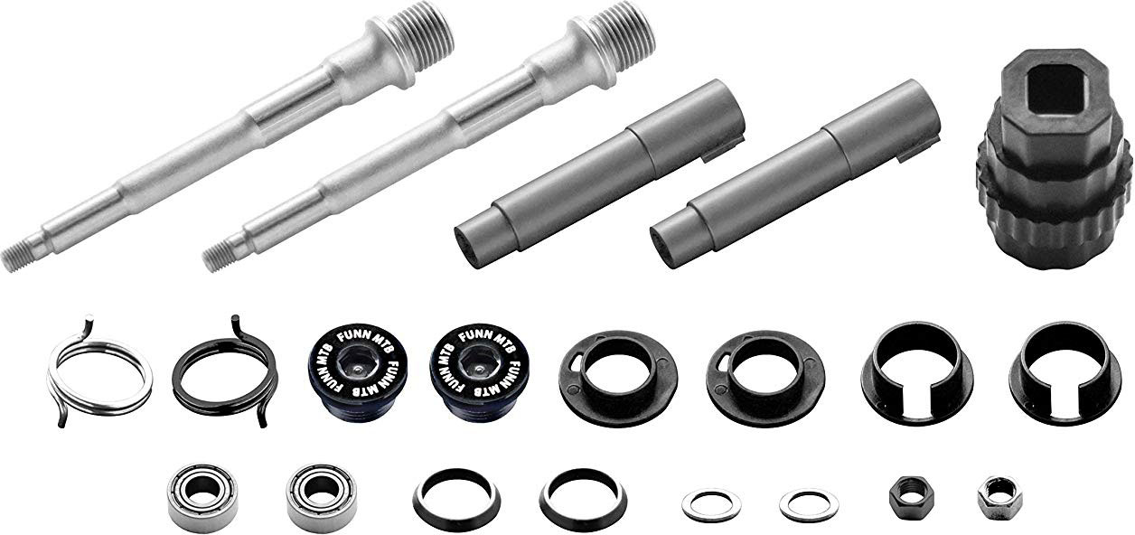 Wiggle | Funn Ripper Pedal Axle Kit | Pedal Spares | Misc. Pedals
