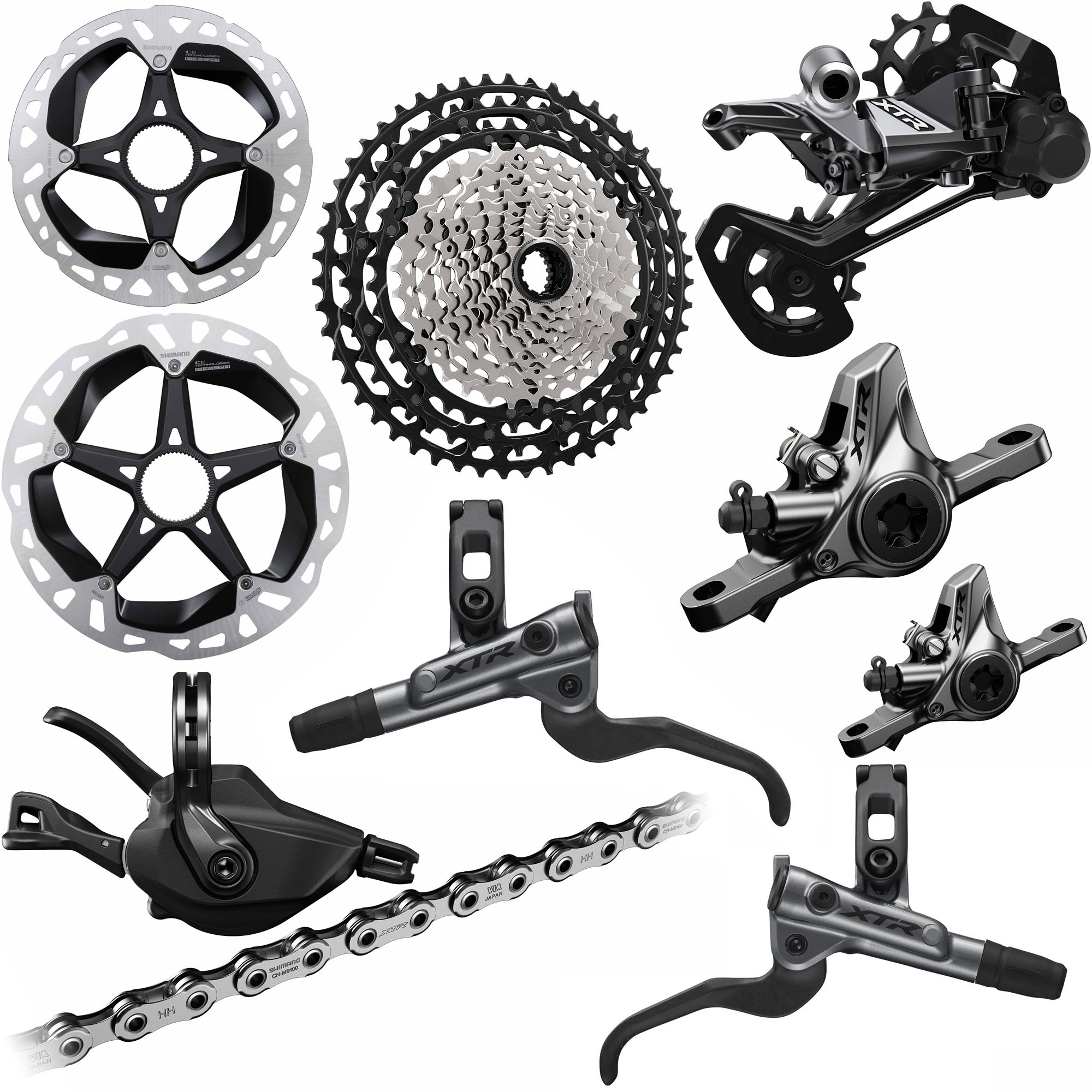65a8cbc6fa2 Wiggle | Shimano M9100 XTR 1x12 Groupset | Groupsets