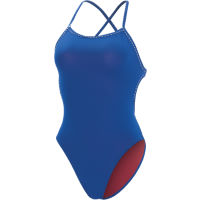 Dolfin Womens Uglies solid tie-back 1 piece swimsuit