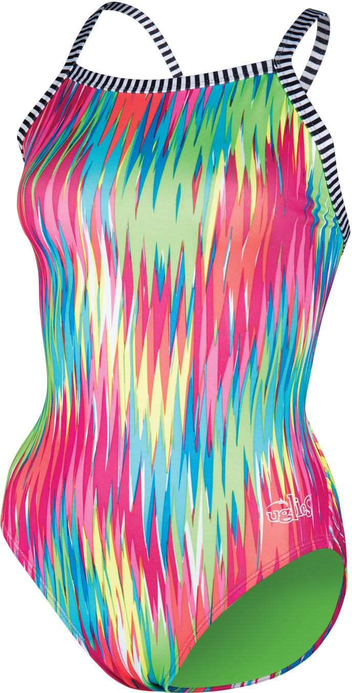 Dolfin Women's Uglies V2 Back Fizzy Swimsuit | swim_clothes