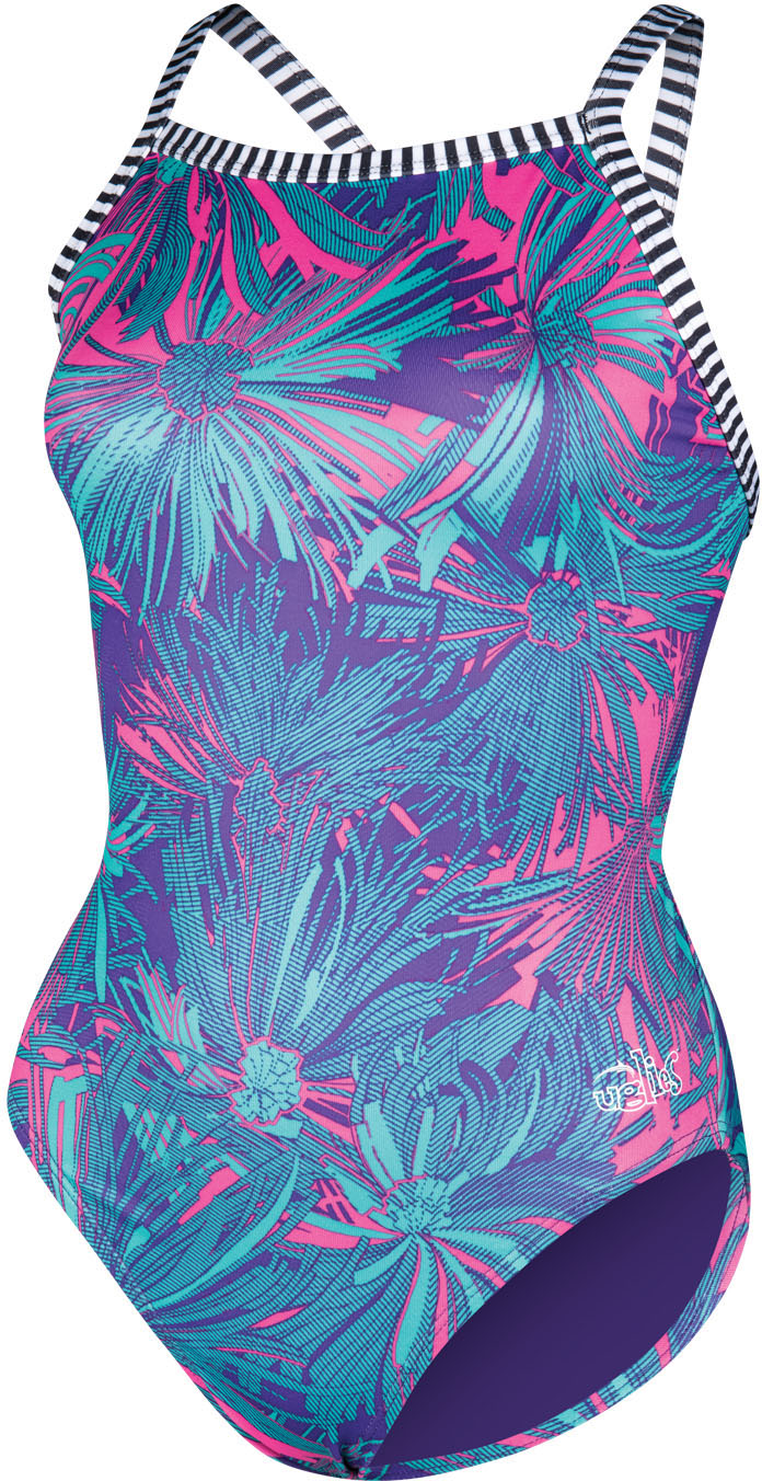 Dolfin Women's Uglies V2 Back Carnation Sensation Swimsui | swim_clothes