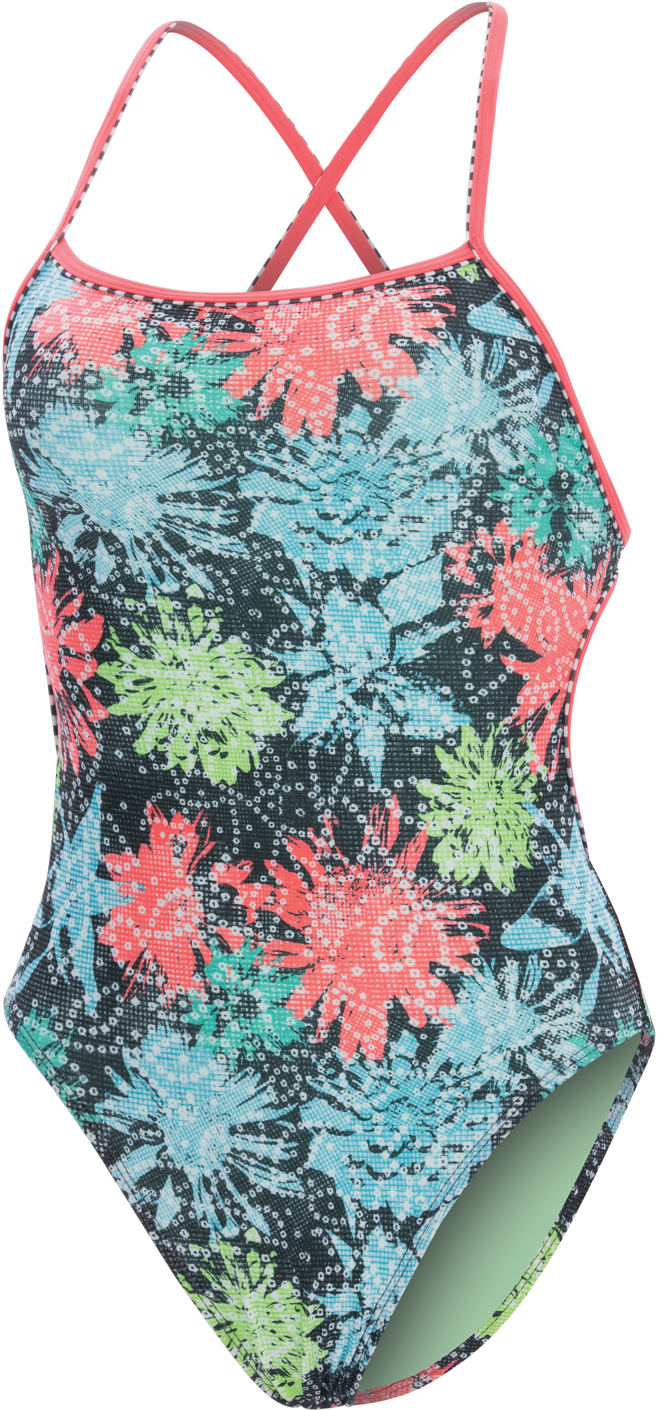 Dolfin Women's Uglies Print Tie Back Astoria Swimsuit | swim_clothes