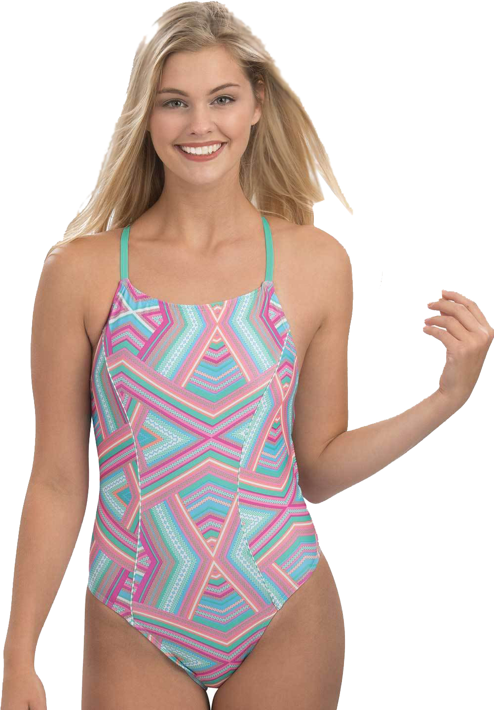 Dolfin Women's Uglies Print Diamond Back Glamazon Swimsui | swim_clothes