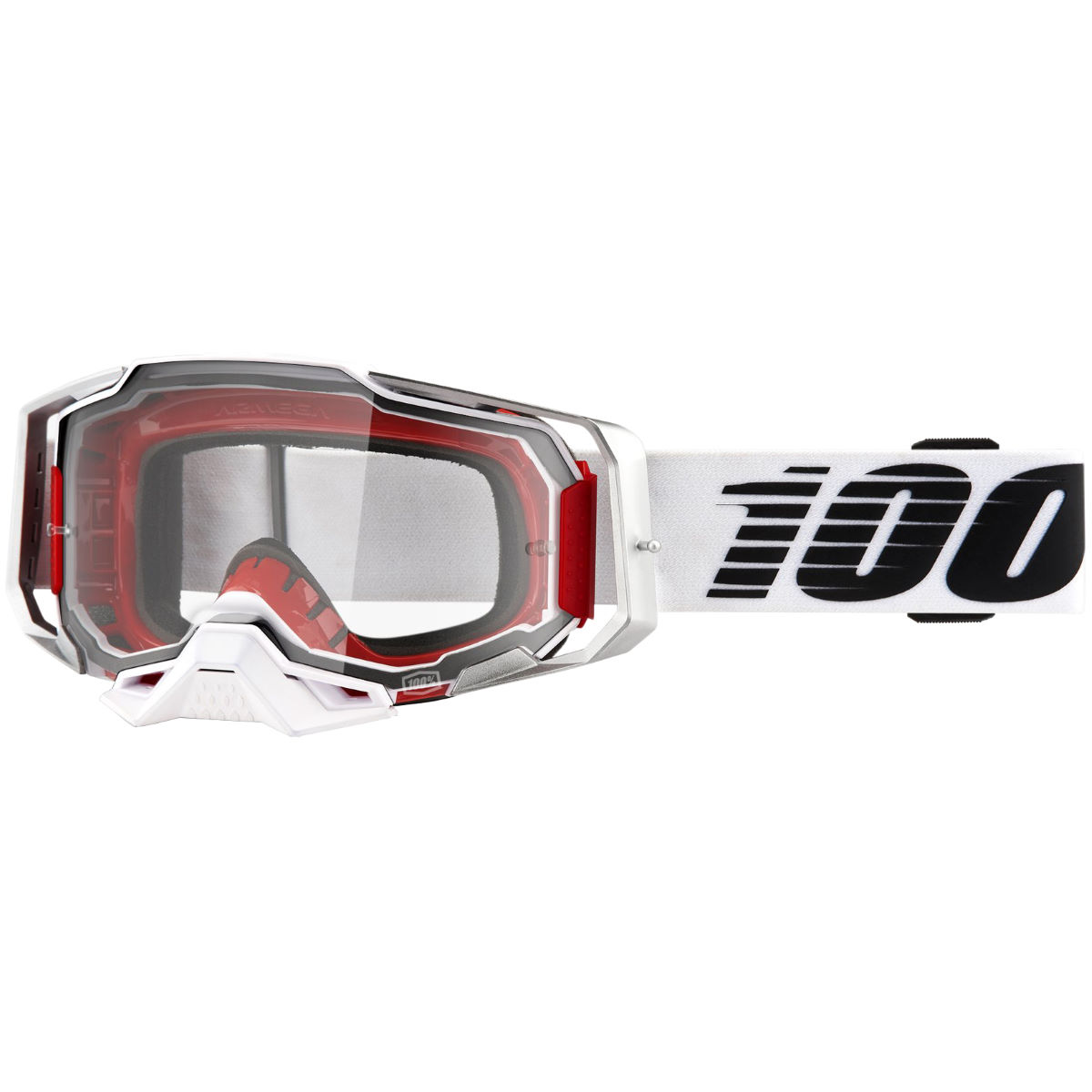 100% ARMEGA Goggle Lightsaber - ULTRA HD Clear Lens   Cycling Goggles