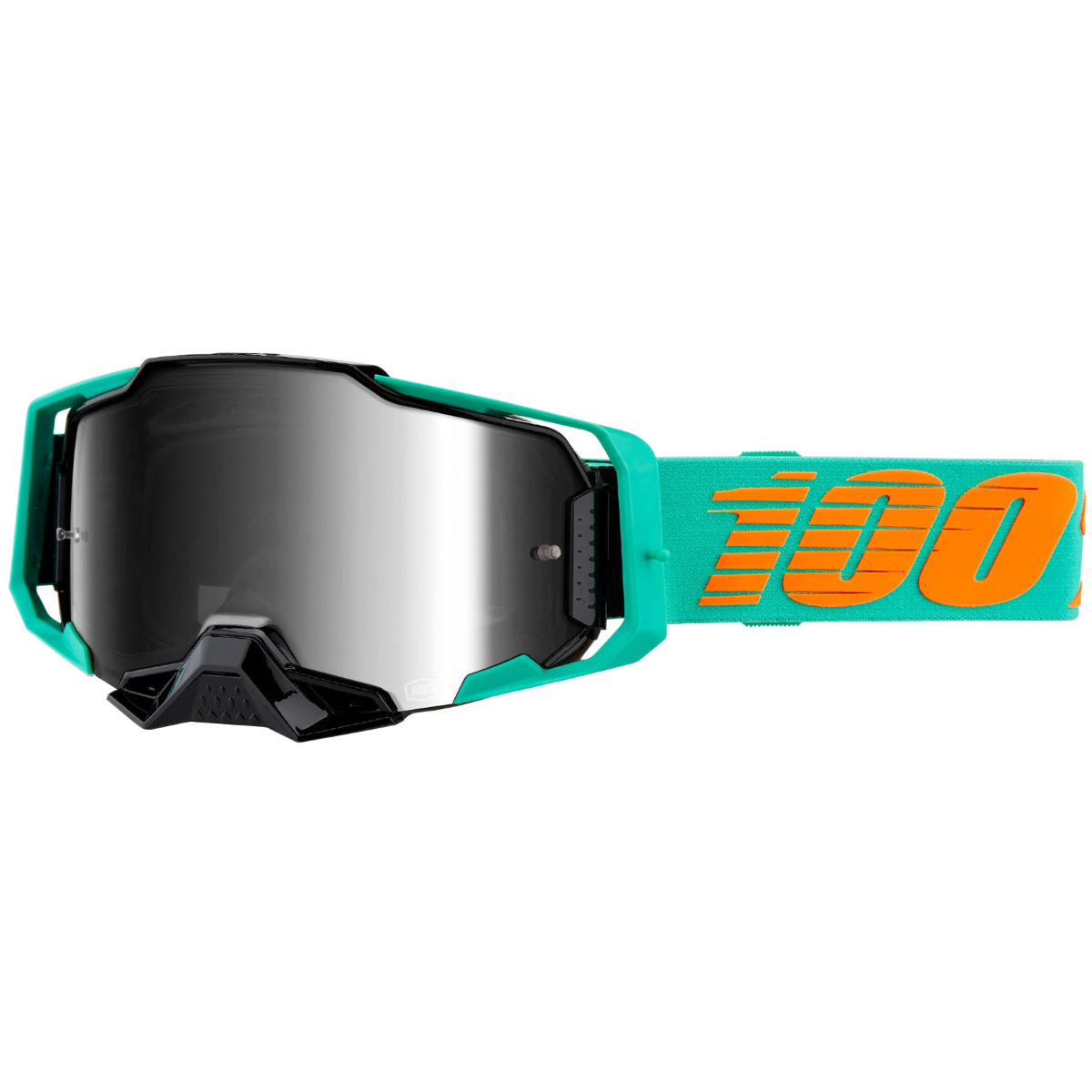 100% Armega Goggle Lightsaber - Ultra Hd Red Mirror Len - One Size