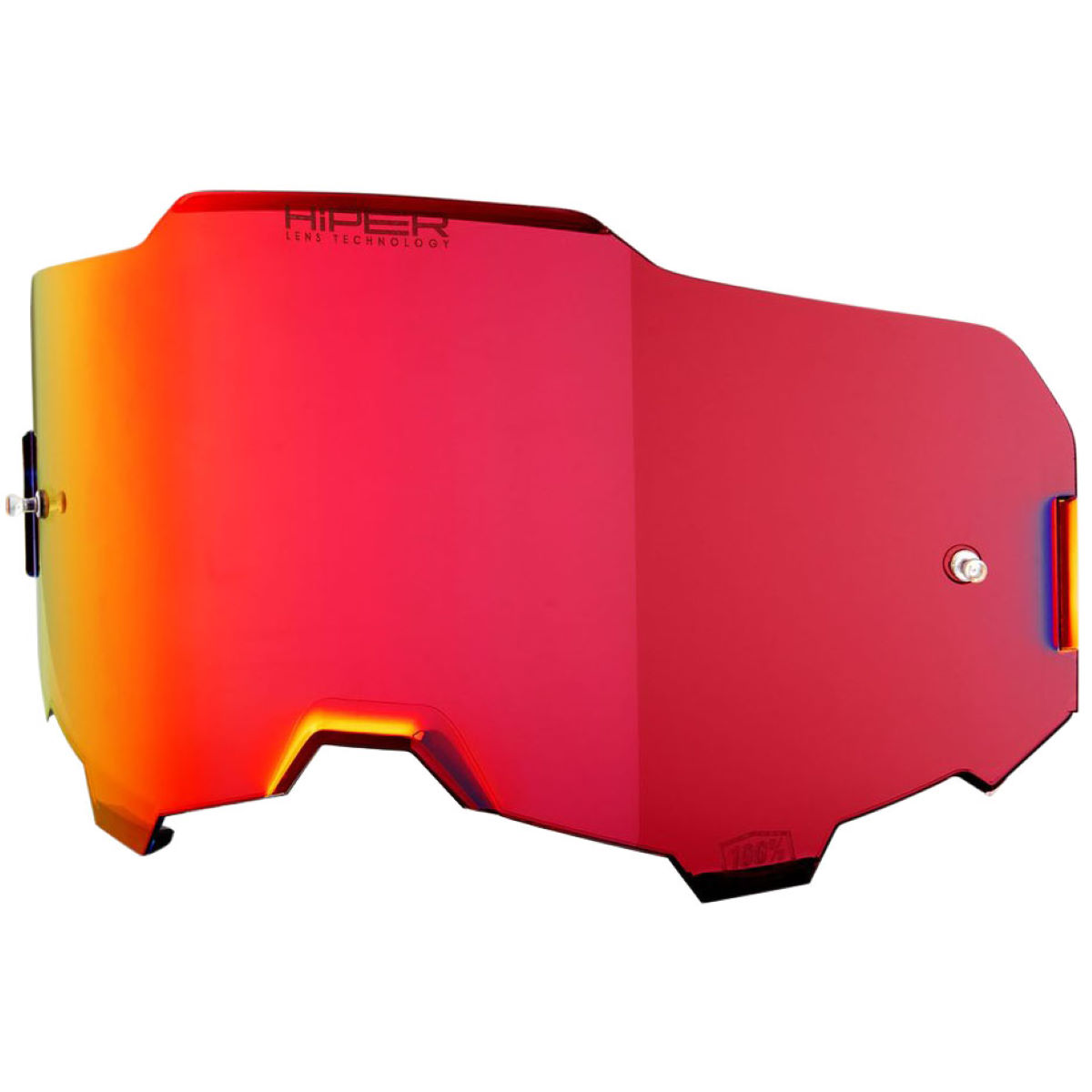 100% 100% ARMEGA Replacement Lens HiPER Red Mirror   Cycling Goggles