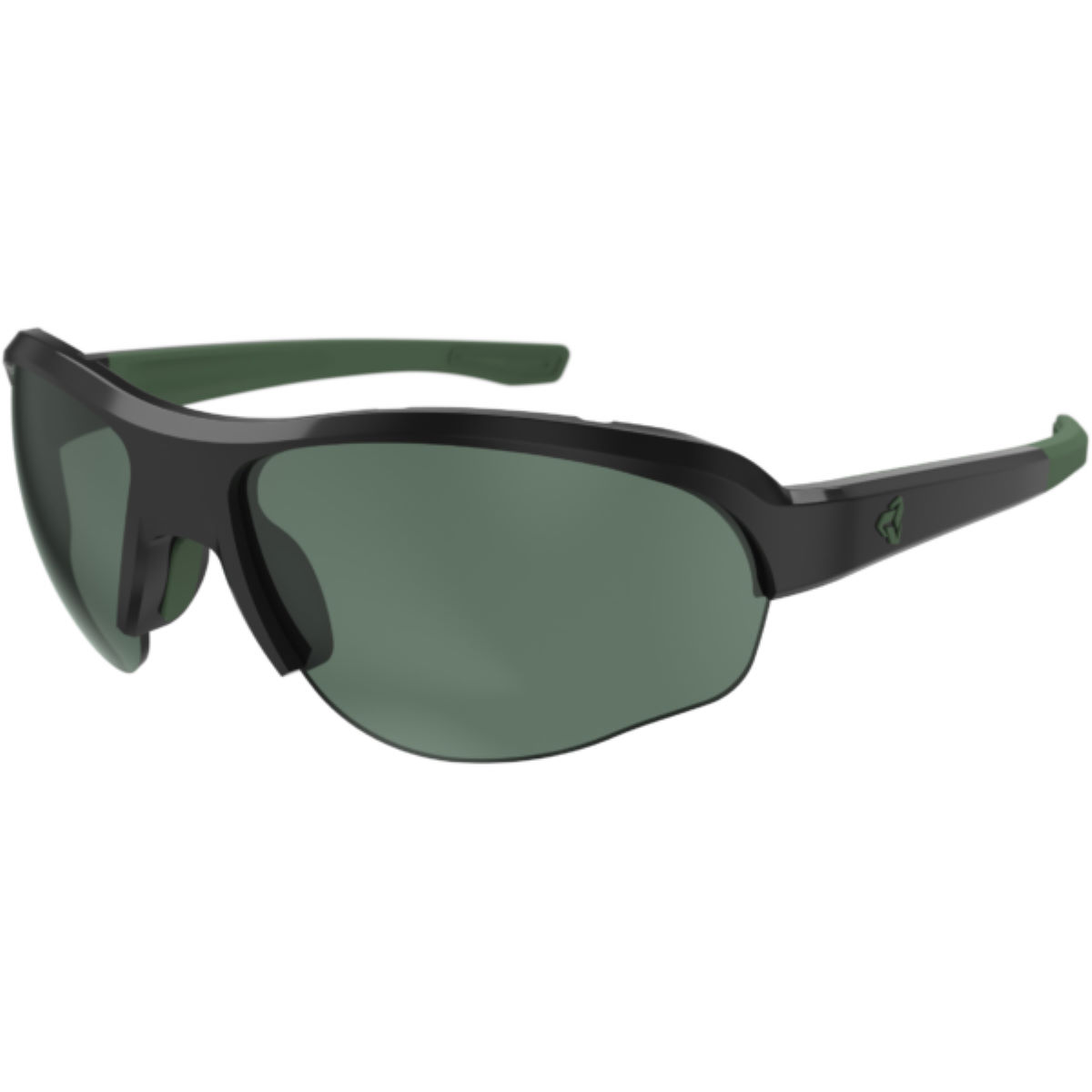 Ryders Eyewear Flume Velo Polar Anti-Fog Sunglasses - Black/Green   Sunglasses