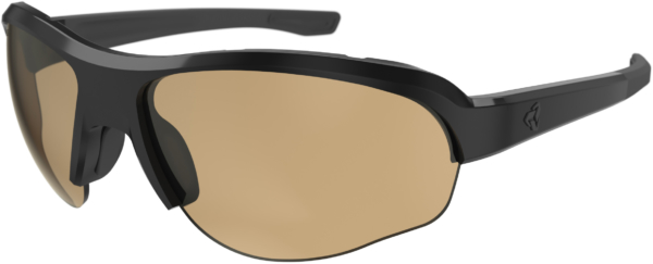 wiggle.dk | Ryders Eyewear Flume Photo Black/Light Brown Lens 71%-27% | Solbriller | Briller