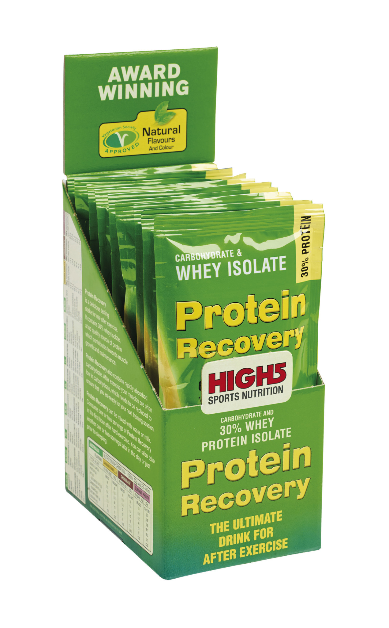 HIGH5 Protein Recovery (9x60g) | Proteinbar og -pulver