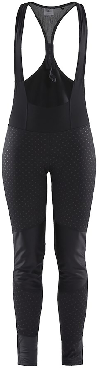 Craft Women's Ideal Pro Wind Bib Tights With Pad | Trousers