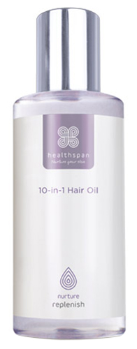 Healthspan Replenish 10-in-1 Hair Oil 100ml | polish_and_lubricant_component