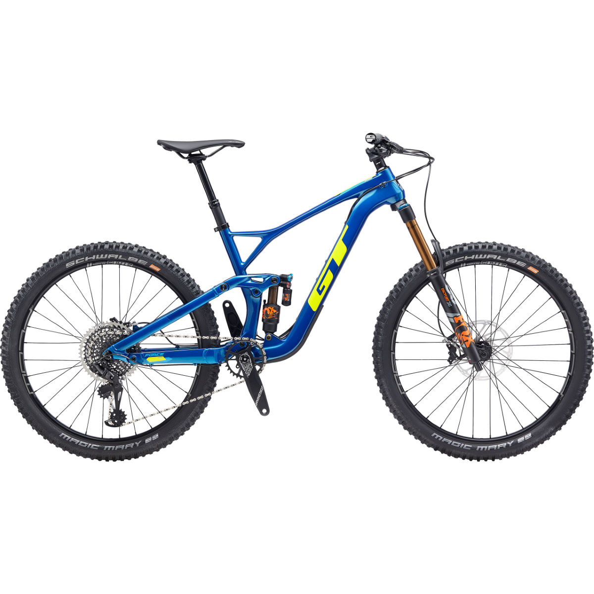 GT GT Force Carbon Pro 27.5 Bike (2020)   Full Suspension Mountain Bikes