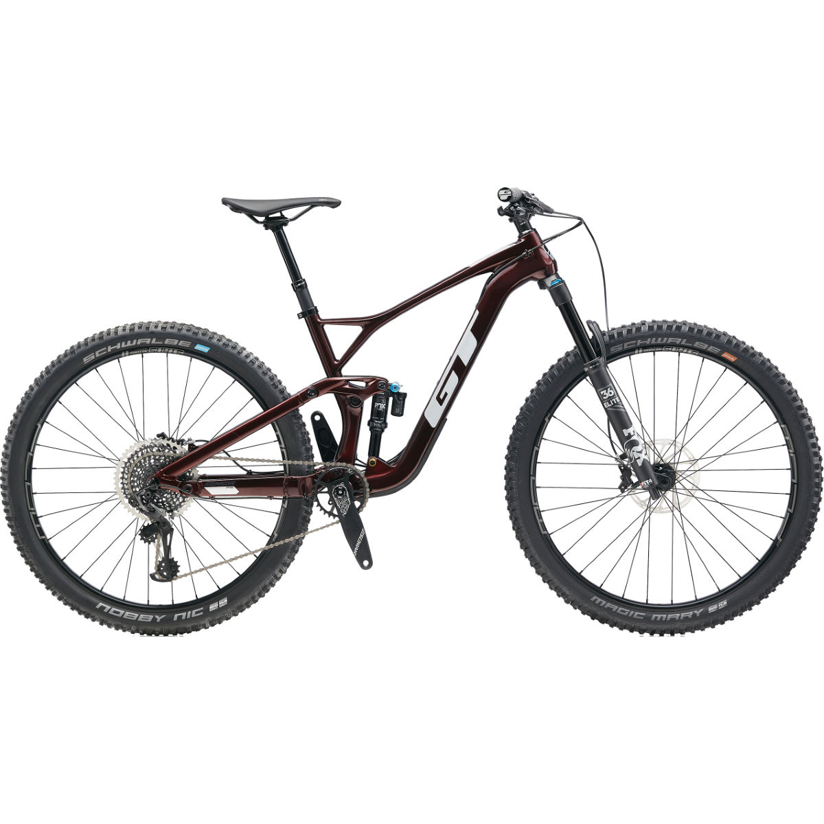 GT GT Sensor Carbon Pro Bike (2020)   Full Suspension Mountain Bikes