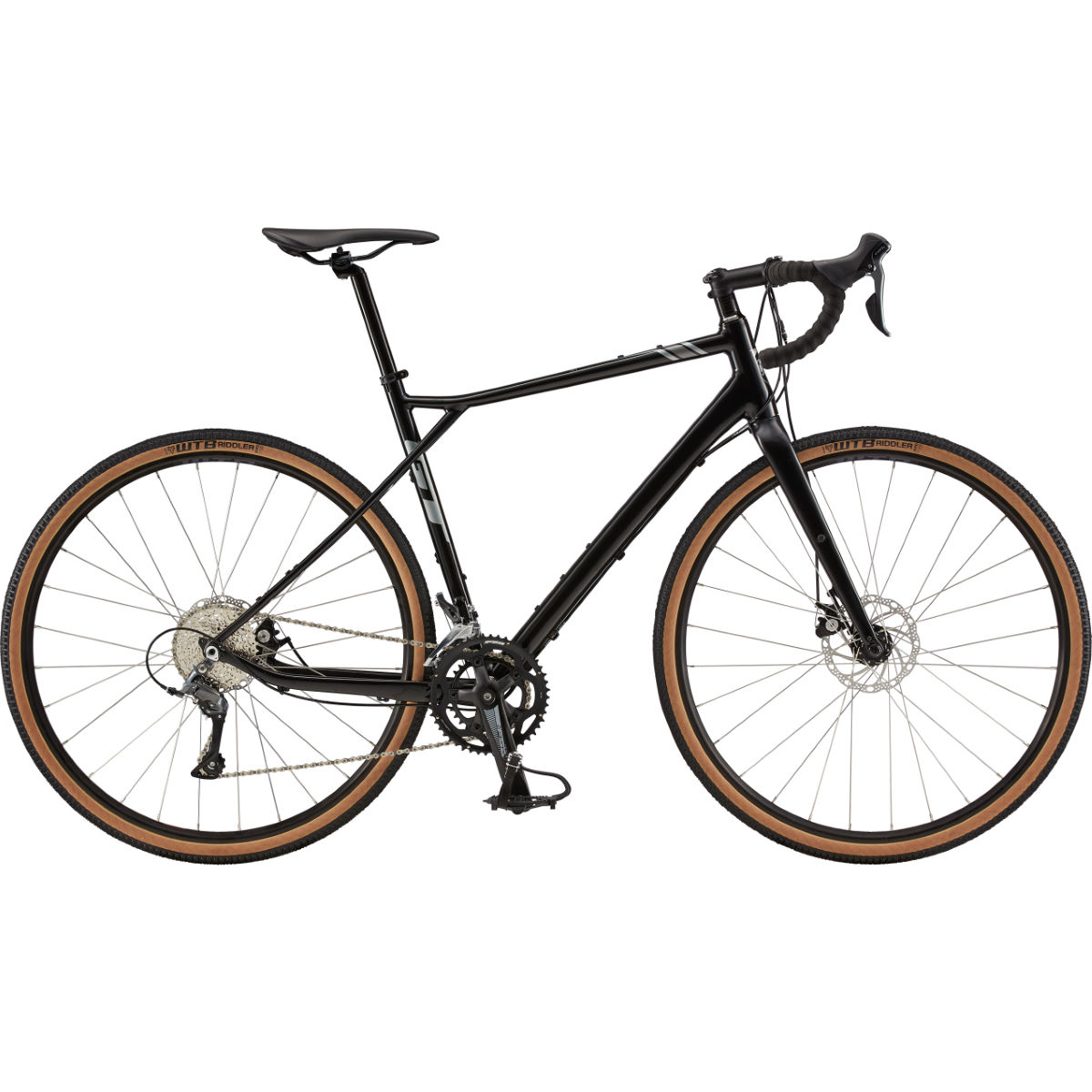 Image of Vélo de route GT Grade AL Elite (2020) - 48cm Satin Black - Grey