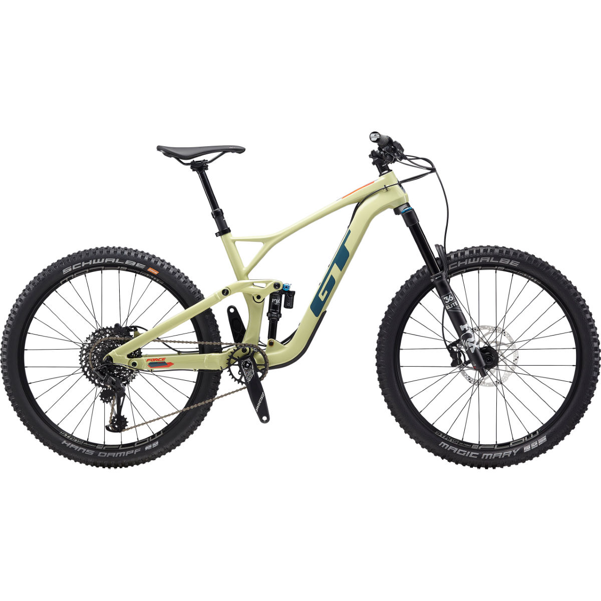 GT GT Force Carbon Expert 27.5 Bike (2020)   Full Suspension Mountain Bikes