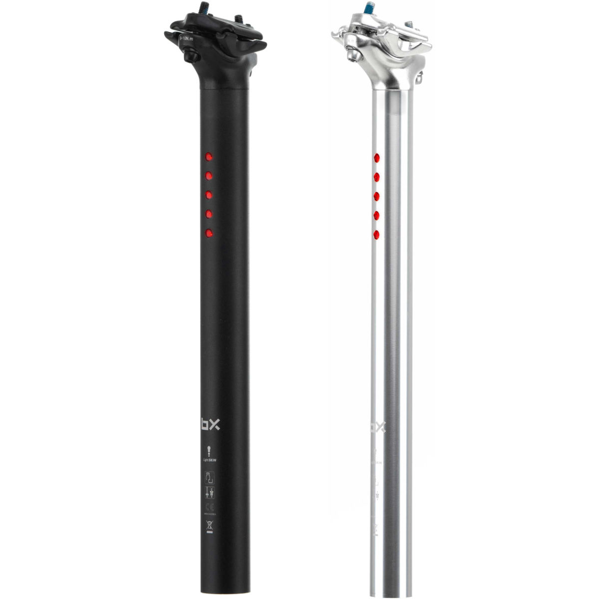 Brand-X Brand-X LightSKIN Seatpost Light USB Charge   Rear Lights