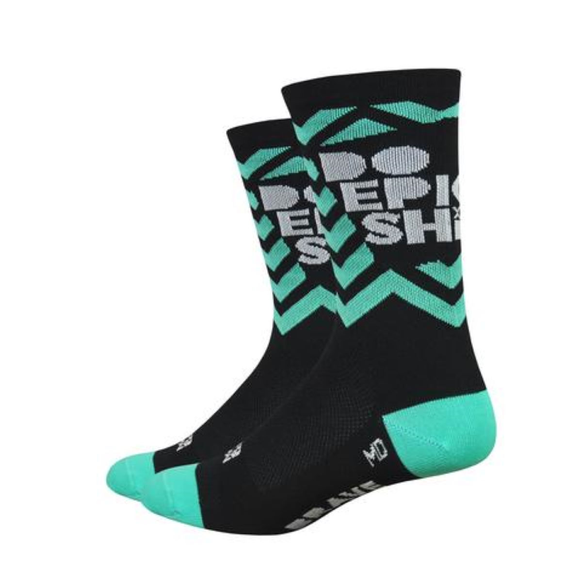 "DeFeet DeFeet Aireator 6"" Do Epic Sh%t Socks   Socks"