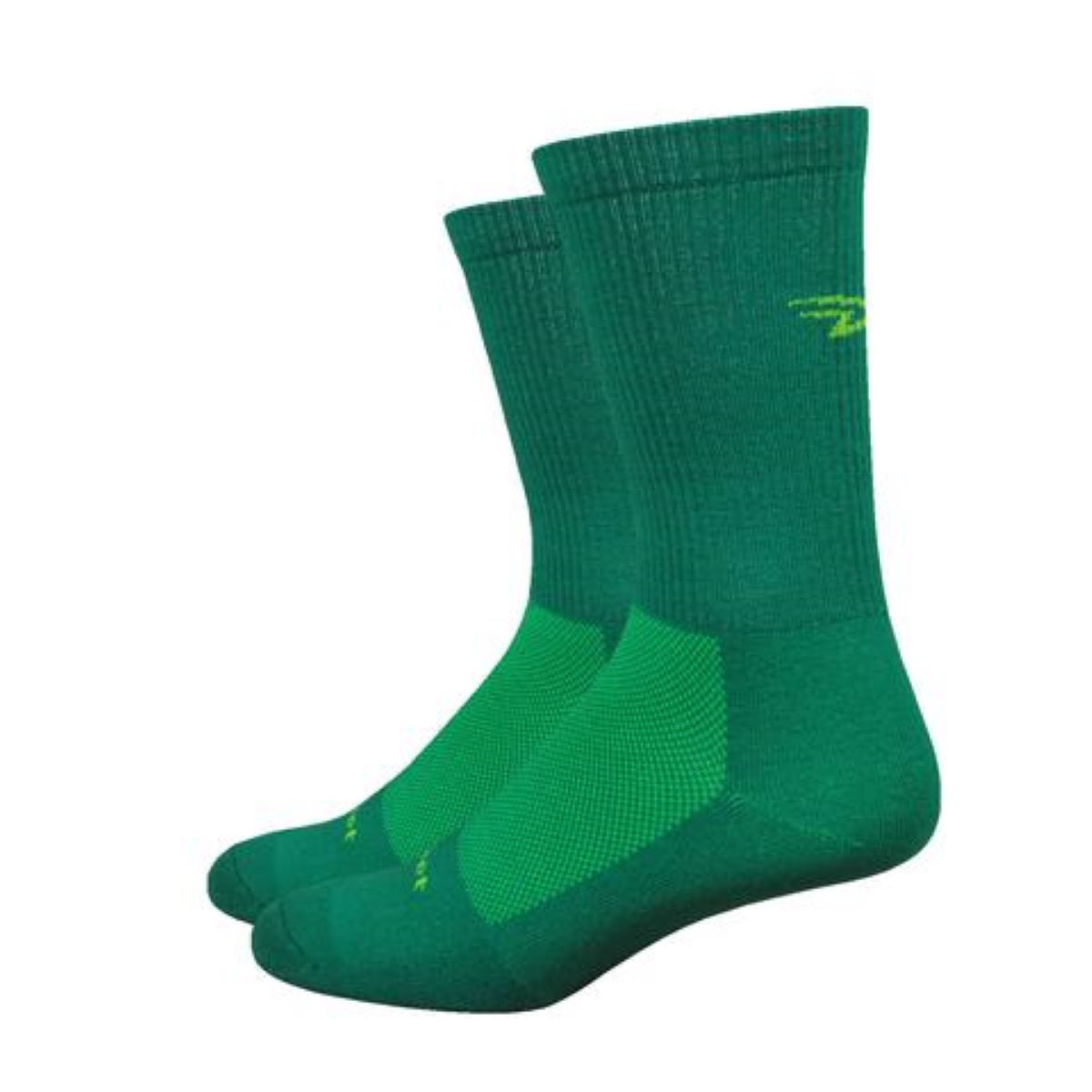 "DeFeet DeFeet Levitator Trail 6"" D-Logo Socks   Socks"