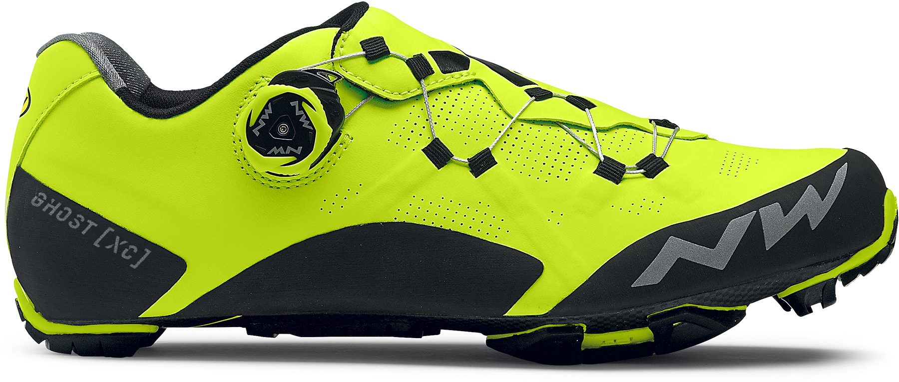 Northwave Ghost XC MTB Shoes (Yellow Fluo) | Sko