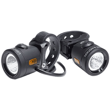 Light And Motion Nip-n-Tuck (500 front) eBike Light Set
