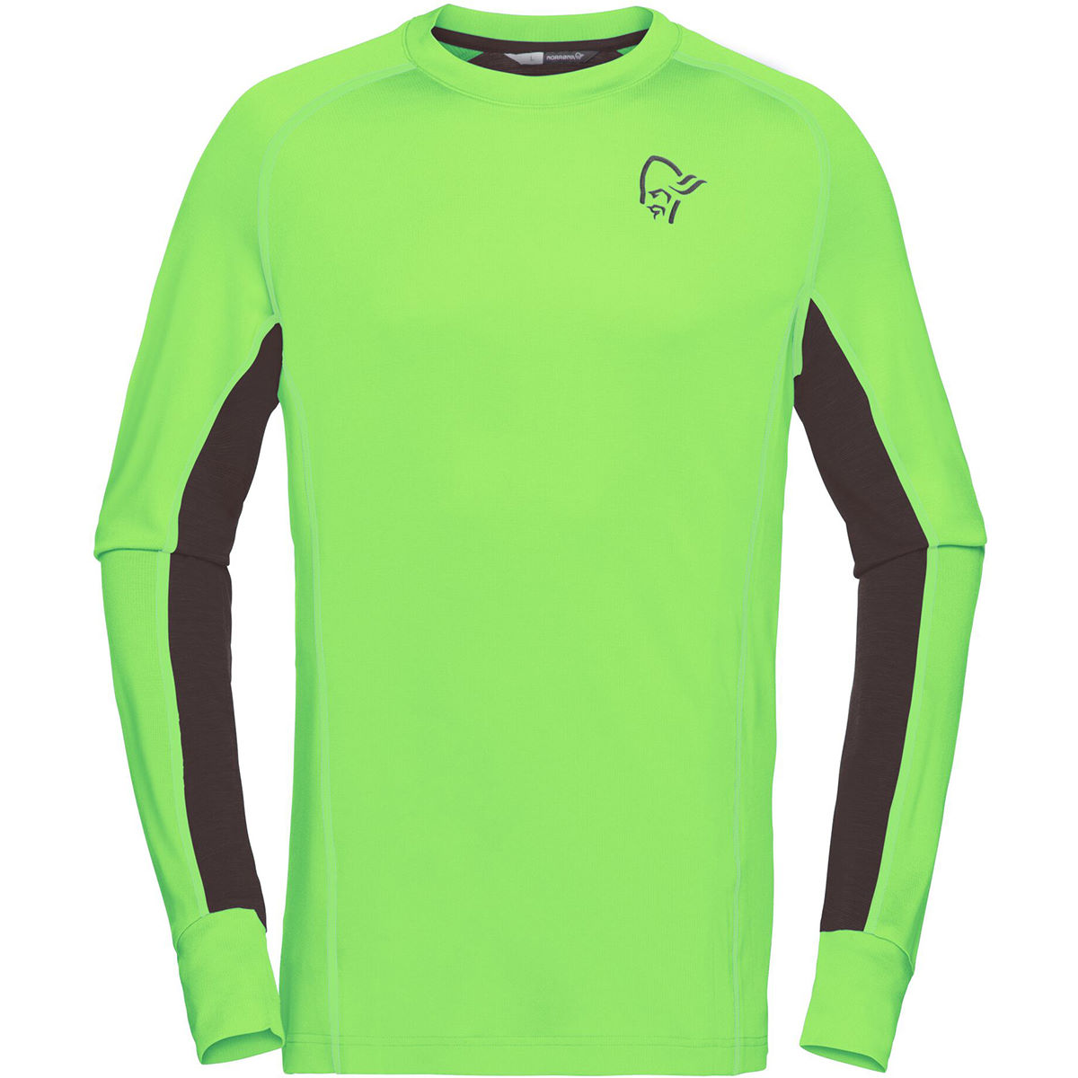 Norrøna Norrøna fjørå Powerwool Long sleeve   T-Shirts