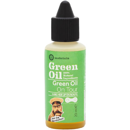Green Oil On Tour Chain Lube