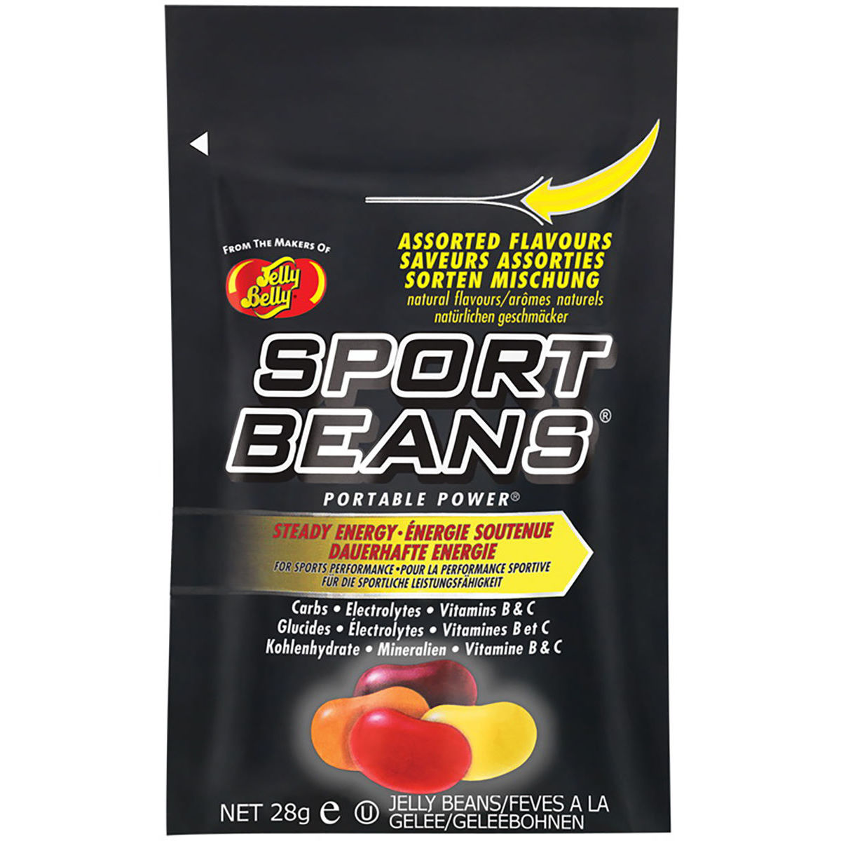 Jelly Belly Jelly Belly Sport Beans Assorted Pack (5 x 28g)   Snacks