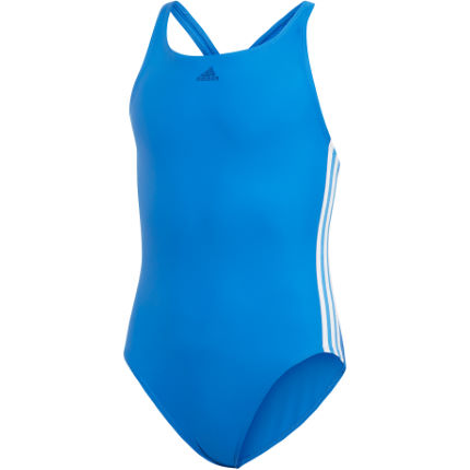 adidas Girl's 3 Stripes Swimsuit