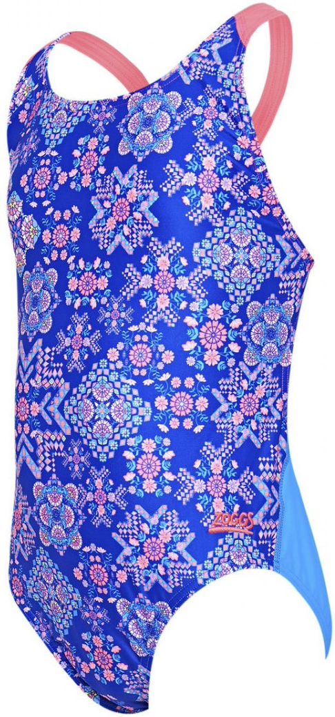 Zoggs Girls Flyback One Piece Swimsuit