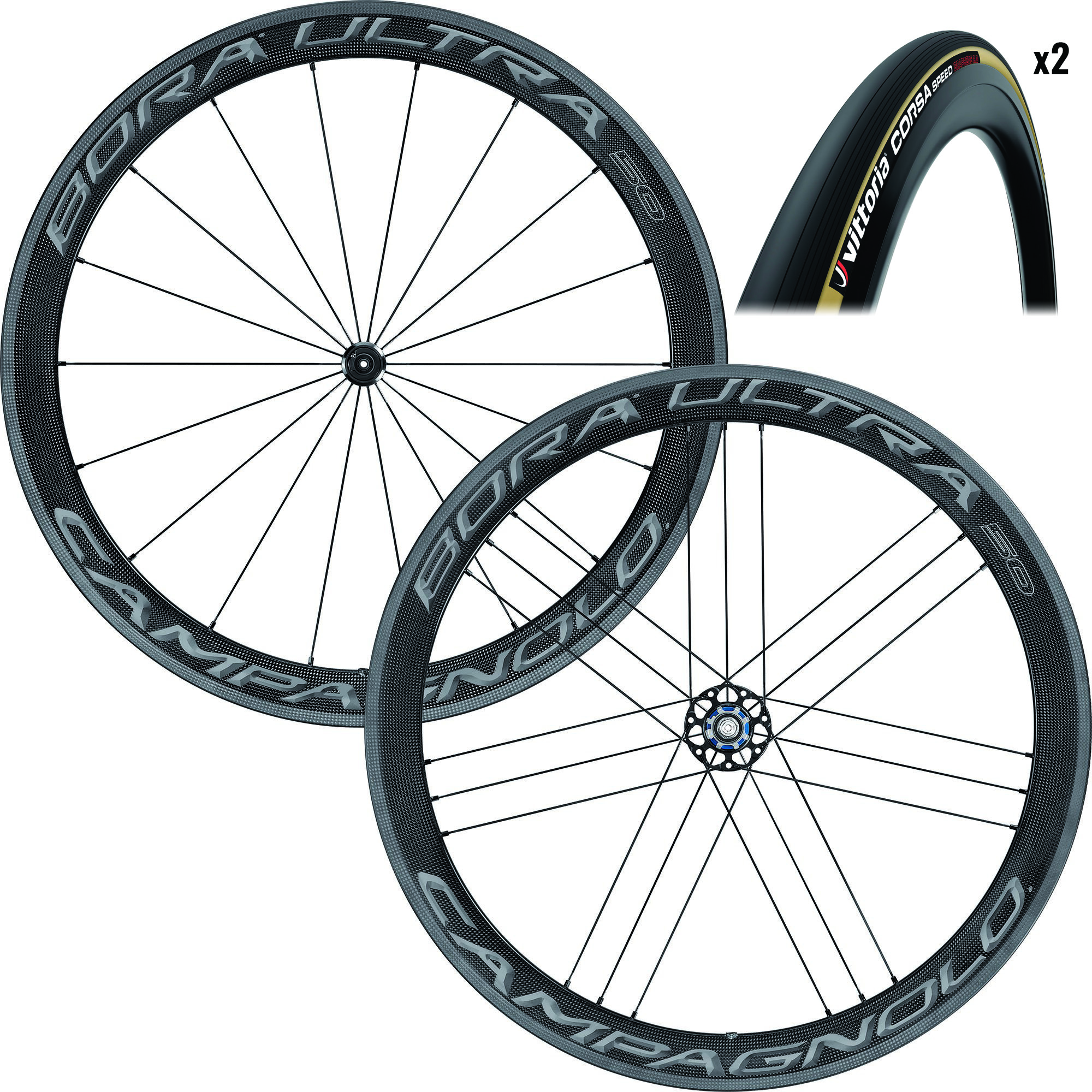 Campagnolo Bora Ultra 50 Tubular Wheels and Tyres | item_misc
