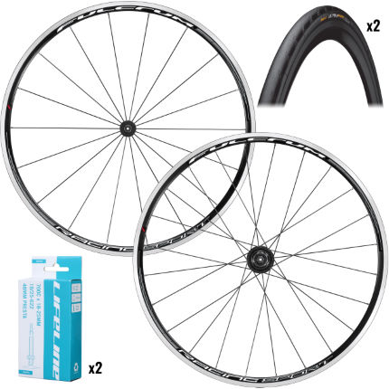 Fulcrum Racing Sport Wheels with Tyres and Tubes