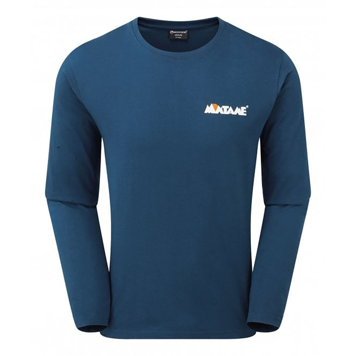 Montane 1993 Long Sleeve T-shirt - Medium Narwhal Blue  T-shirts