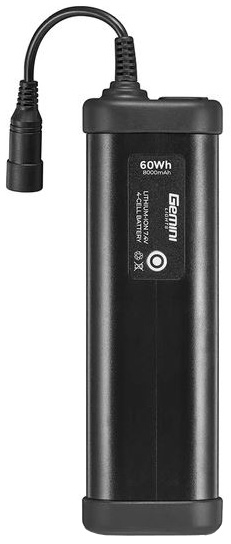 Gemini 4-Cell Battery 60Wh | Computer Battery and Charger