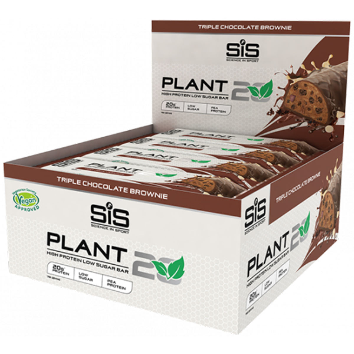 Science in Sport Science in Sport Plant20 Protein Bar (12 x 64g)   Bars
