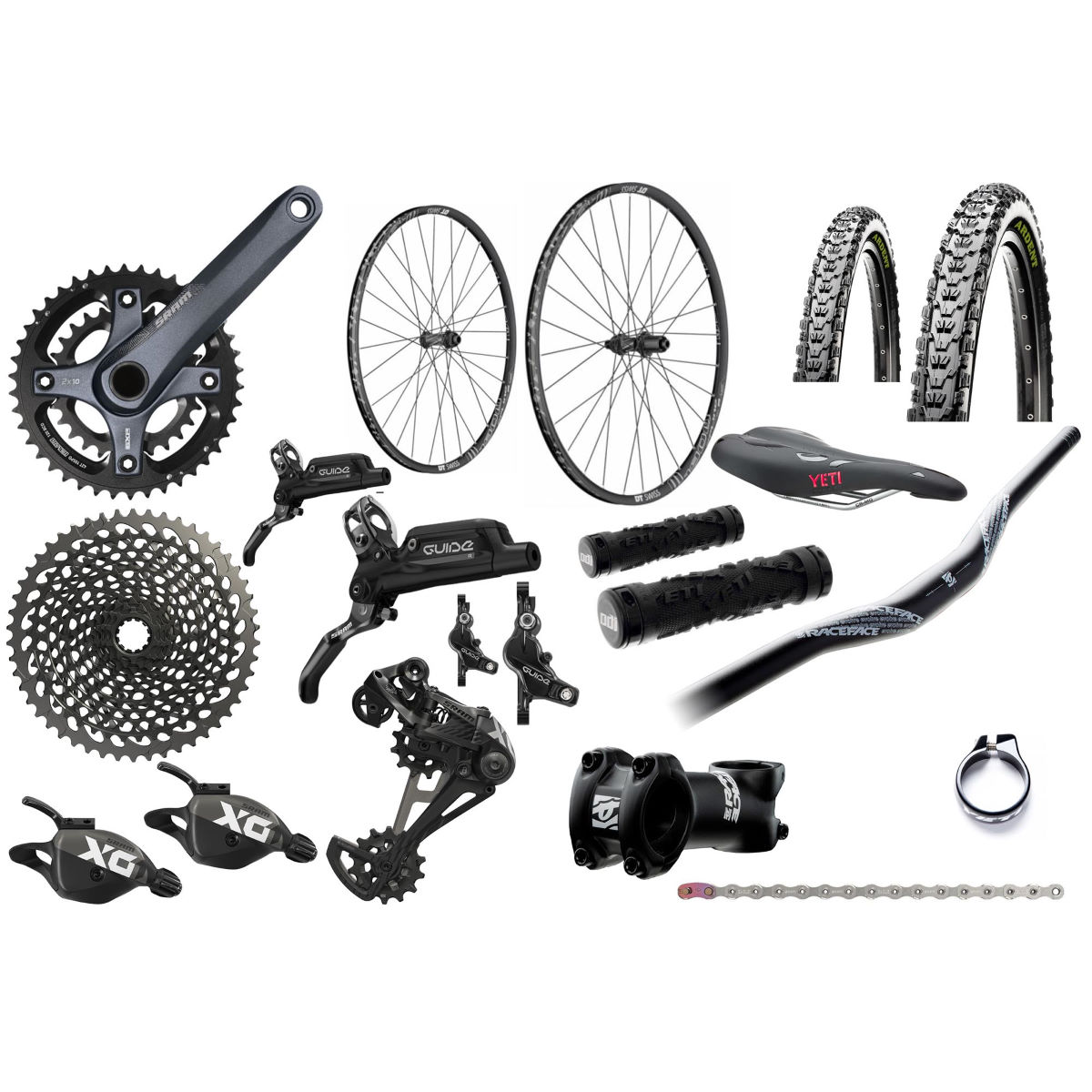 Yeti Yeti ASR Beti SRAM X01 Eagle Build Kit   Groupsets