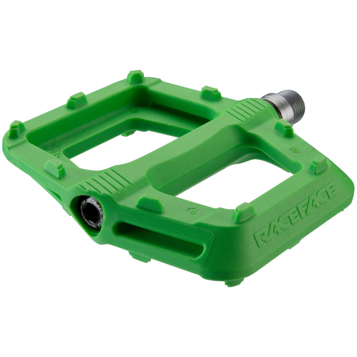 Race Face Ride Pedals - Pair Green  Flat Pedals