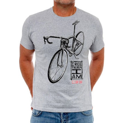 Cycology I Ride Therefore I am T-Shirt