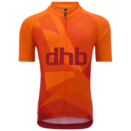 dhb Kid's Short Sleeve Jersey - Sunrise