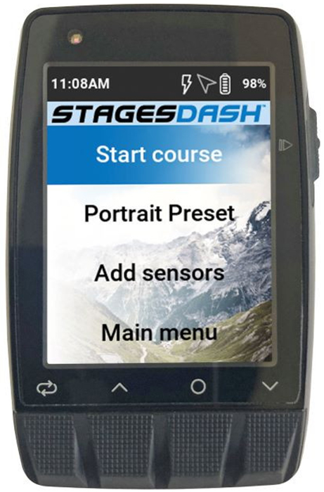 Stages Cycling Dash M50 | Cykelcomputere