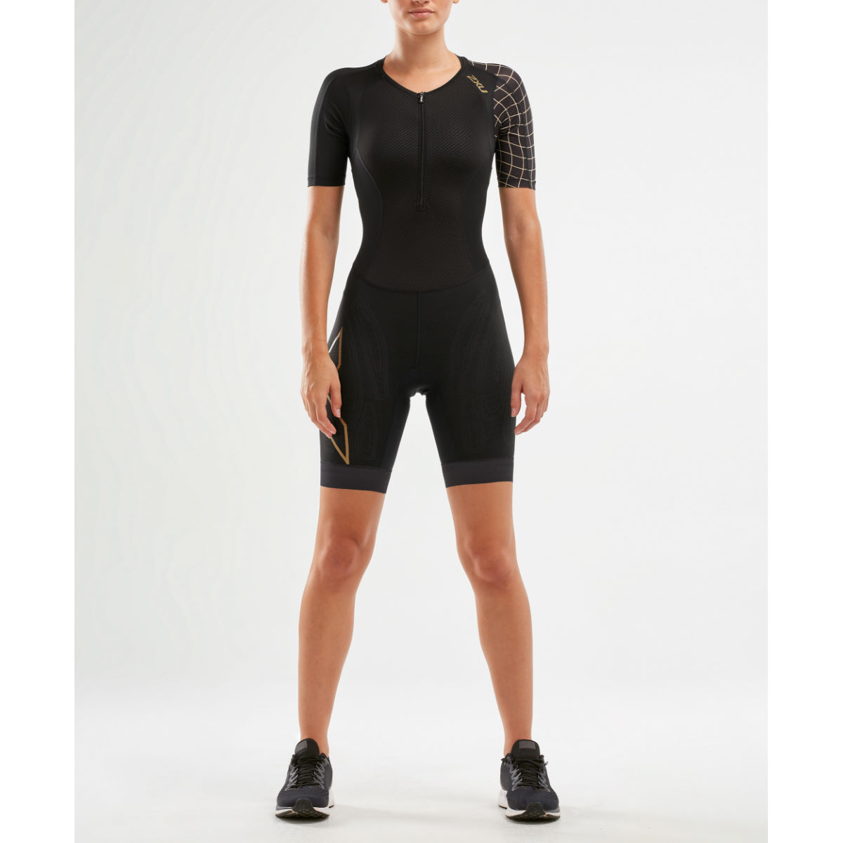 2Xu 2XU Womens Compression Sleeved Trisuit   Tri Suits
