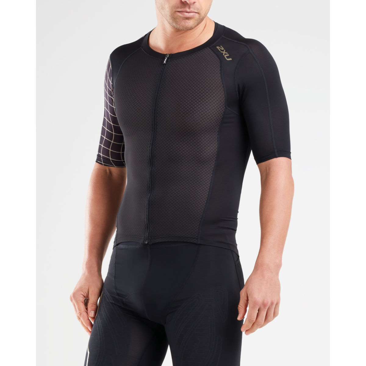 2Xu 2XU Compression Sleeved Top   Compression Tops