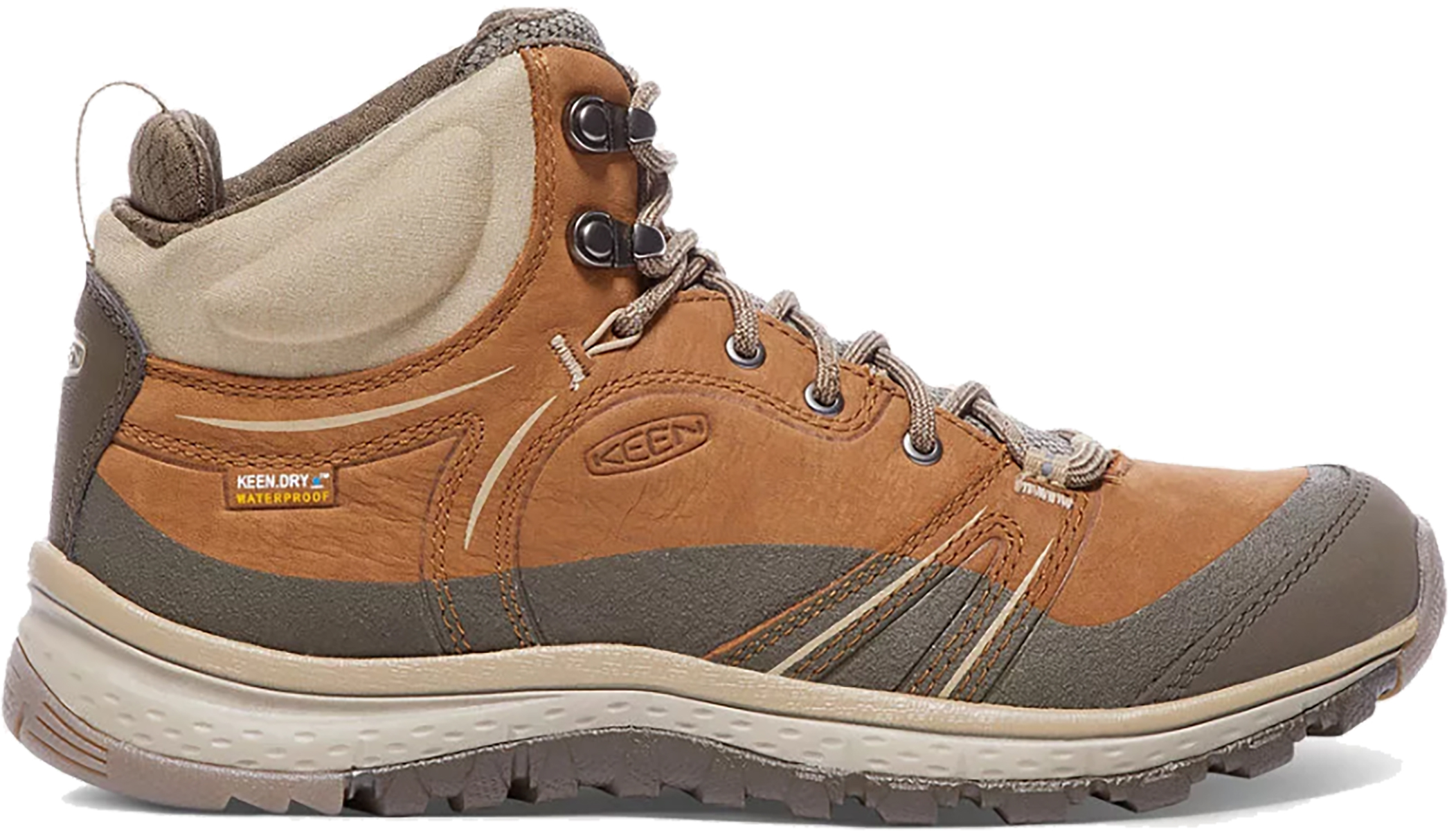Keen Women's Terradora Leather Mid WP Shoes | Running shoes