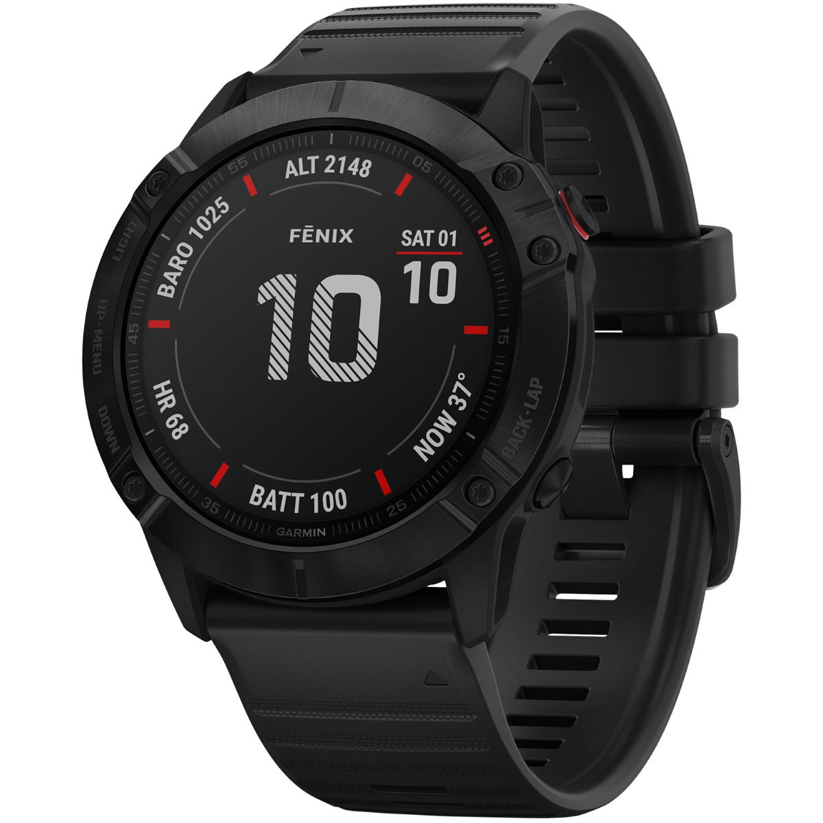 Garmin Garmin Fenix 6X Pro Multisport GPS Watch   Watches