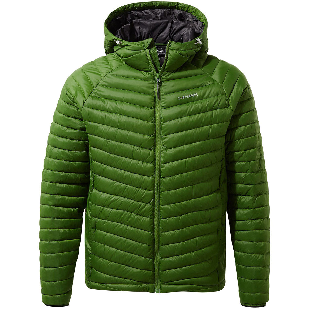 Craghoppers Expolite Hooded Jacket - Medium Dark Agave Green  Jackets