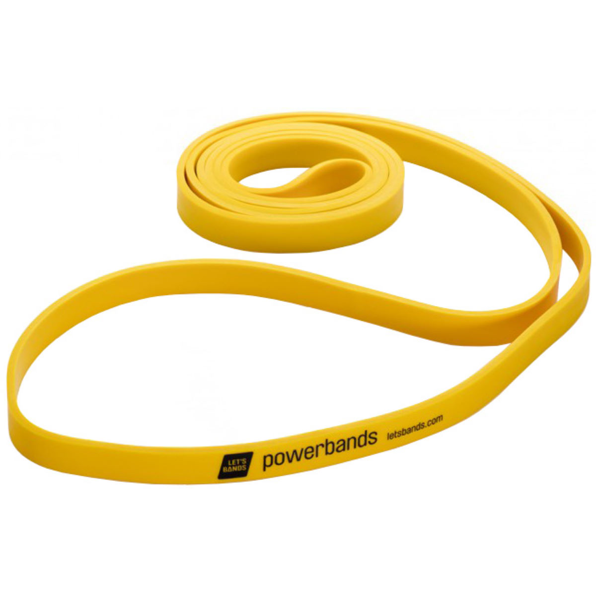 Lets Bands Powerband Max Light - Yellow - Yellow 100 X 1.5 Cm