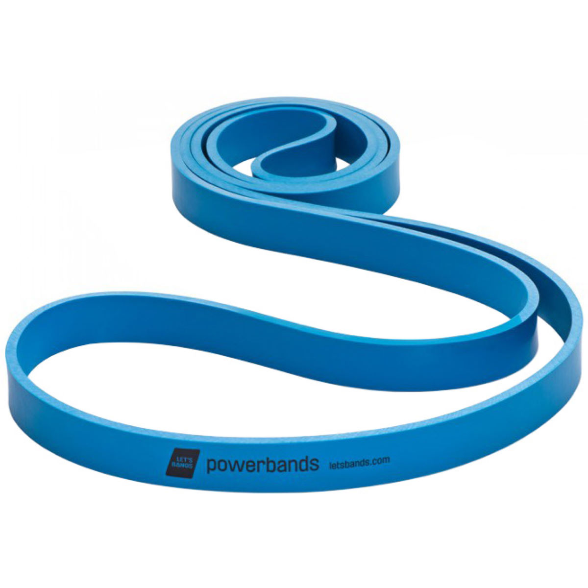 Lets Bands Powerband Max Heavy - Blue - Blue 100 x 2 cm