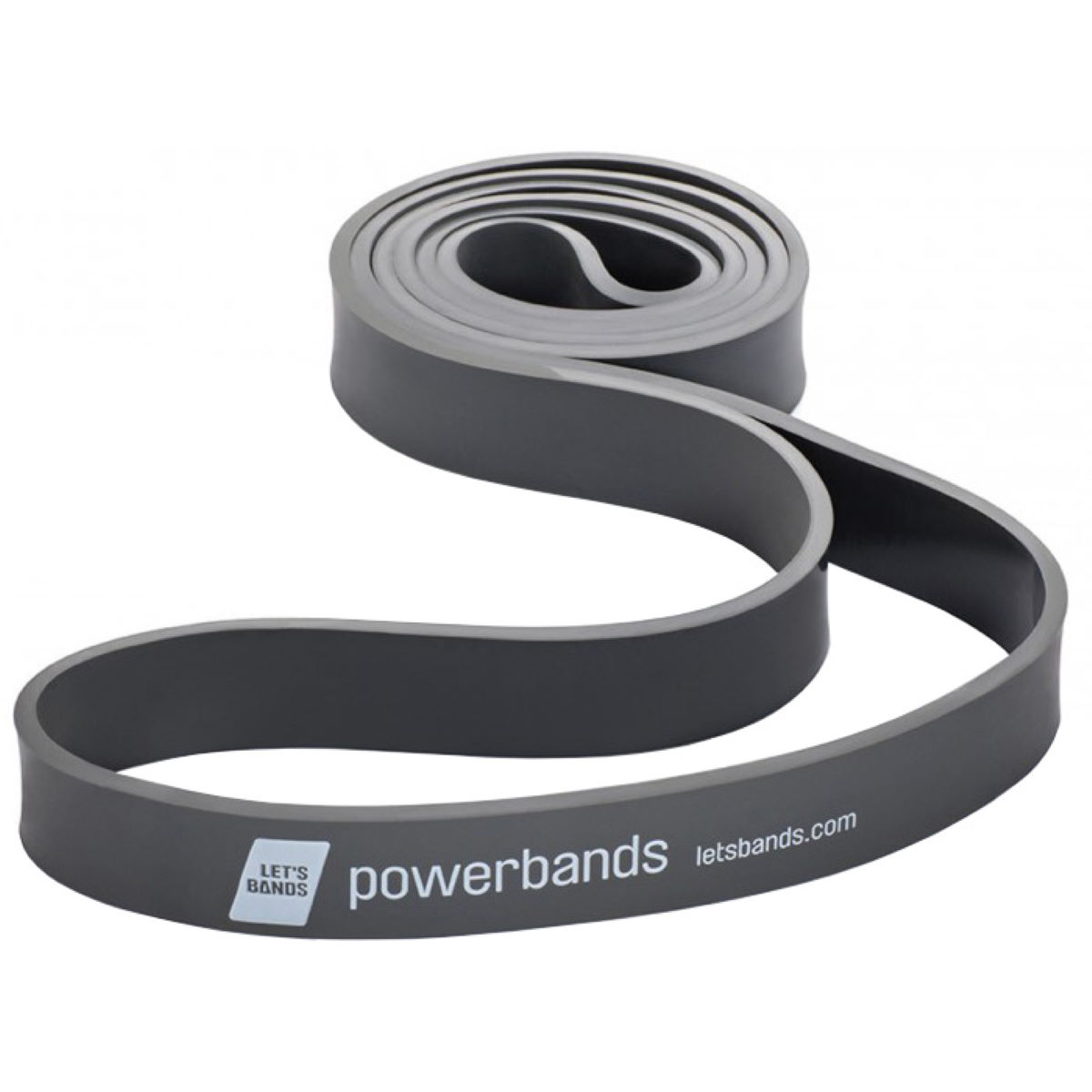 Lets Bands Lets Bands Powerband Max Extra Heavy - Black   Resistance Bands