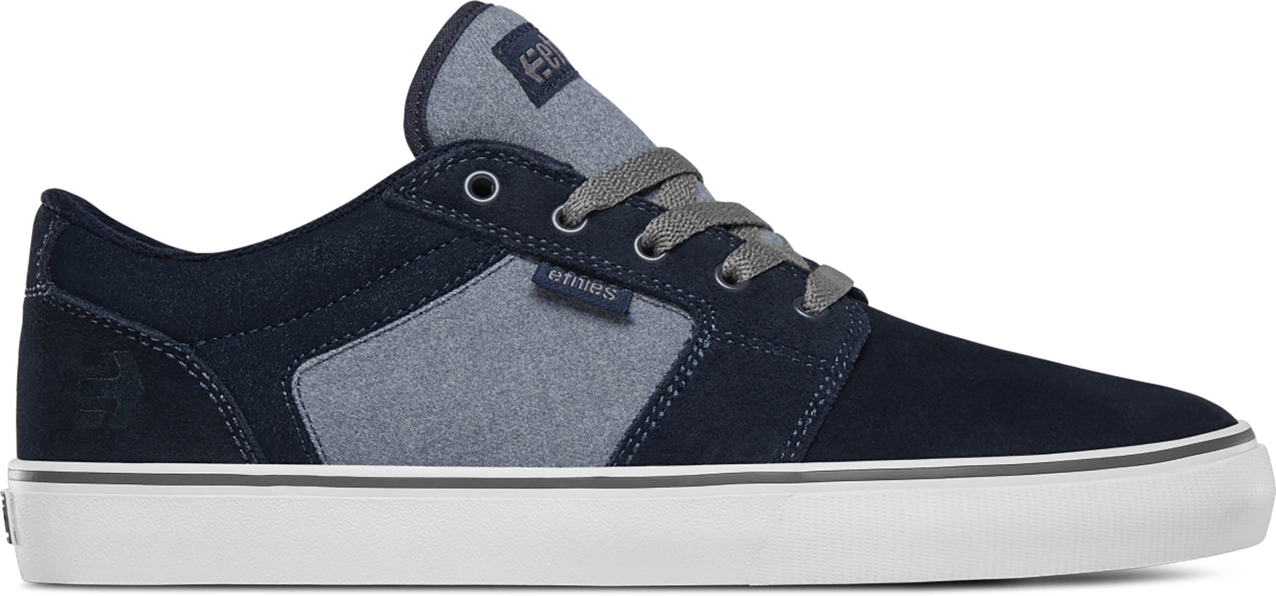 Etnies Barge LS Navy/Heather Shoe | Shoes and overlays