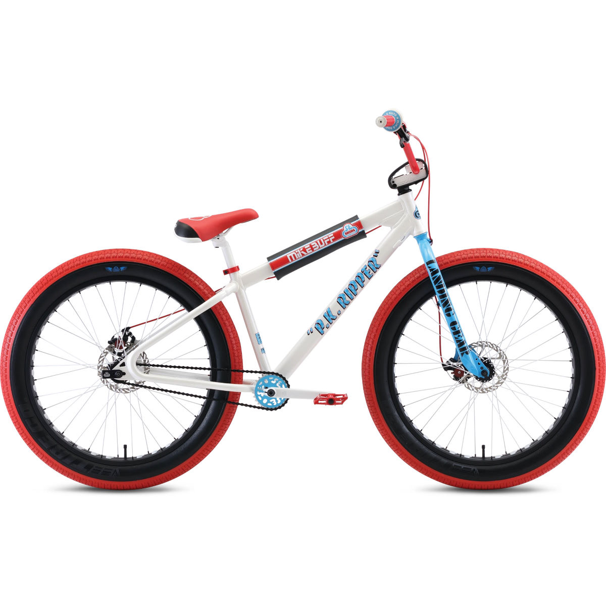 "Image of BMX SE Bikes Mike Buff Fat Ripper 26 - 26"" Arctic White"