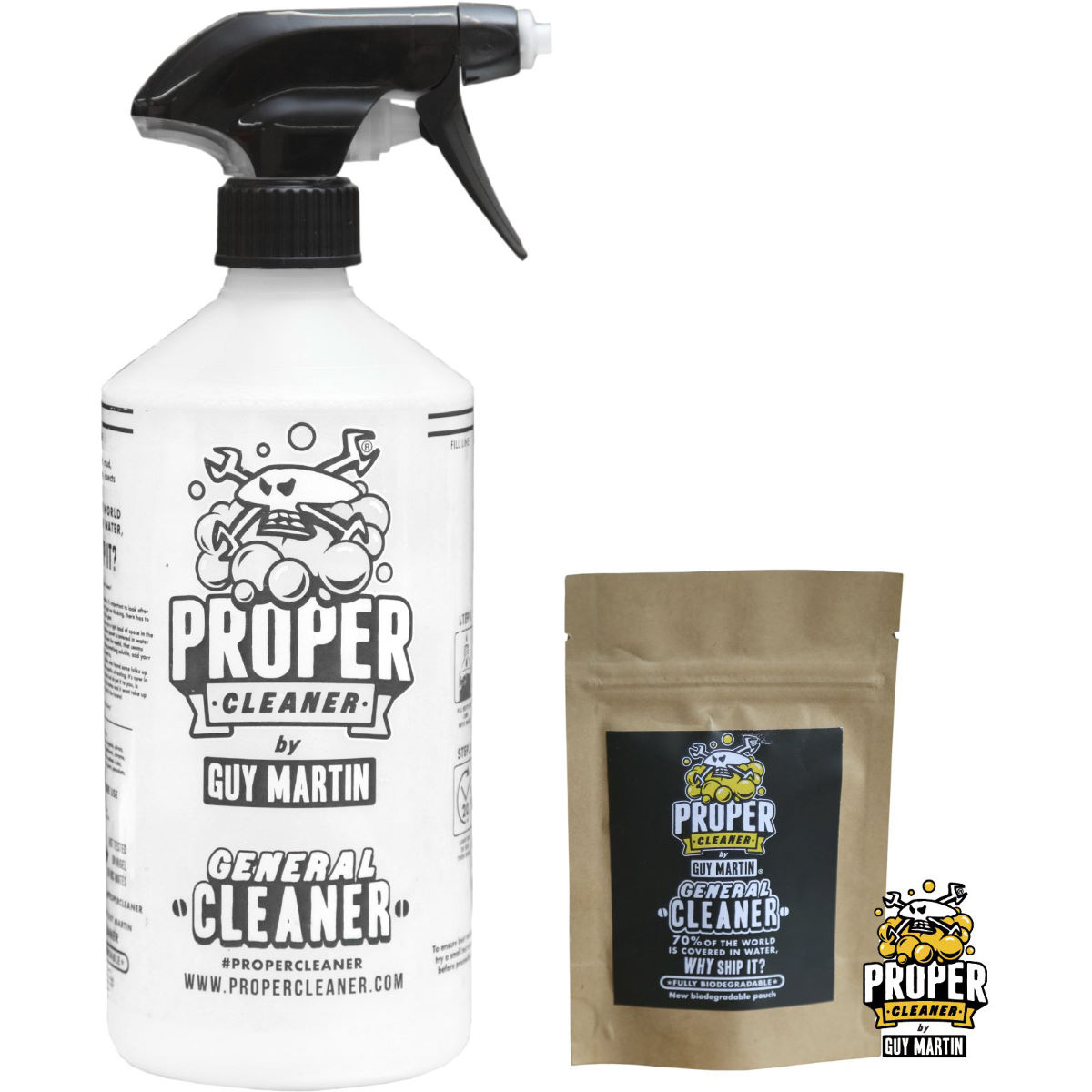 Proper Cleaner General Cleaner Starter Pack - 1.5 Litres Yellow